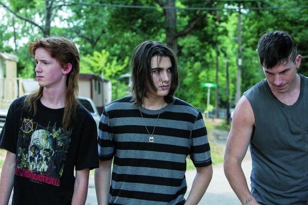 Seth Meriwether, James Hamrick and Kristopher Higgins, from left.