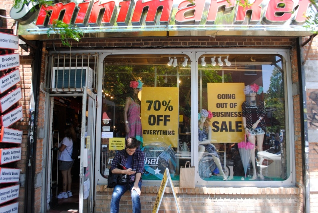 Mini Mini Market is closing at 14 years due to rising rents.