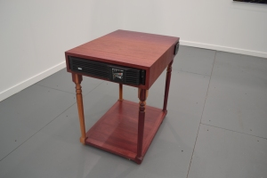 Jamison's battery table.