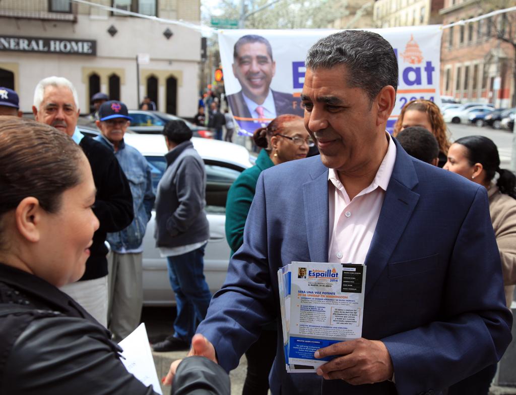 State Senator Adriano Espaillat. (Photo: Copyright 2014, Jon Reznick/Espaillat for Congress)