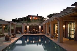 The Leavitt Residence in Glen Ellen, CA. (Peter Aaron / OTTO)