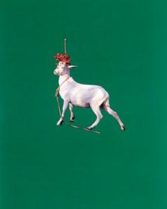 'Goat,' 1985. (Courtesy Maccarone/© Estate of Sarah Charlesworth)