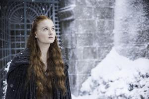 Sansa Stark wonders if Littlefinger had a brain aneurism. (HBO)