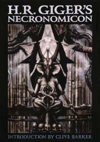 Giger's first book, 'Necronomicon.' (Wikimedia)
