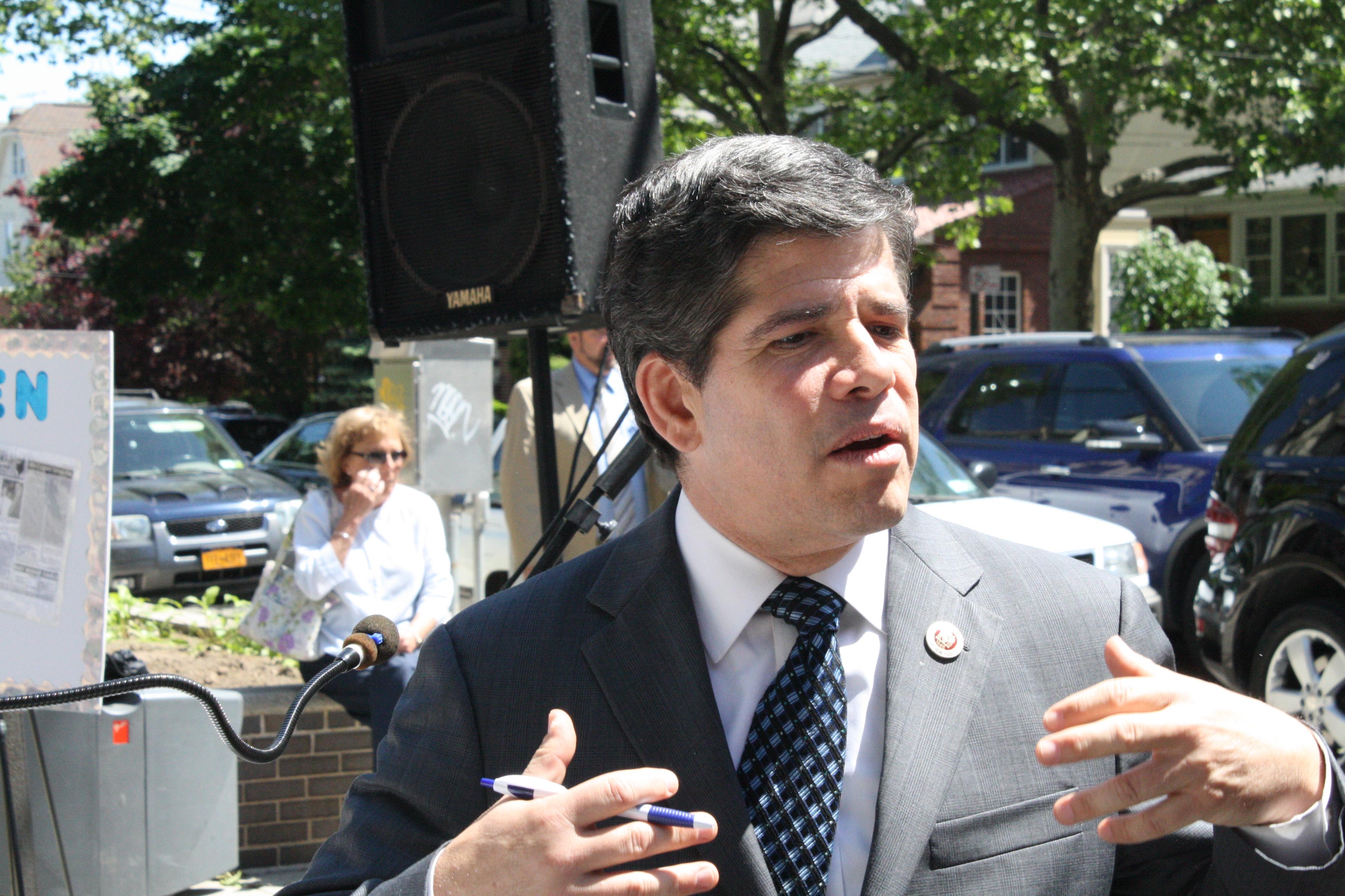 Councilman Vincent Gentile. (Photo: Vanessa Ogle)