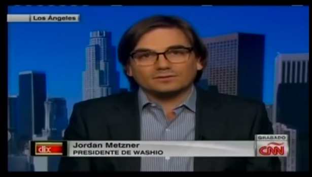Jordan Metzner started a burrito chain in Argentina. Without knowing Spanish. (CNN en Español screencap)