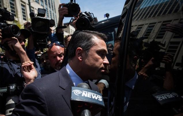 Congressman Michael Grimm. (Photo: Andrew Burton/Getty)