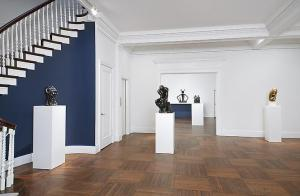 Installation view of 'Casting Modernity: Bronze in the XXth Century' at Mnuchin. (Photo by Tom Powel Imaging, Inc., courtesy Mnuchin)