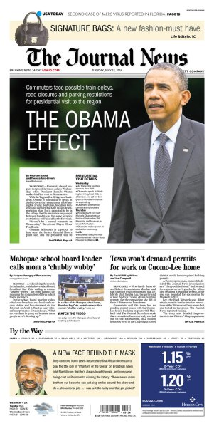 Today's Journal News. (Photo: Newseum)