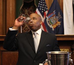 Brooklyn Borough President Eric Adams. (Photo: Kelly Weill)