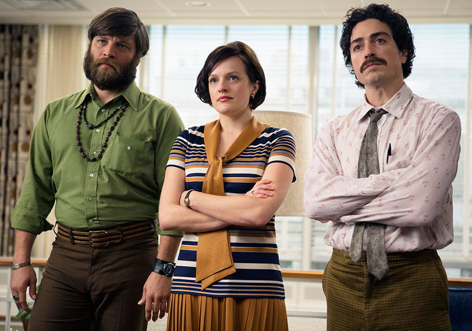 Peggy Olson: Still not amused. (Photo via AMC)