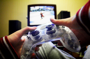 Put down the controller. (Wikimedia Commons)
