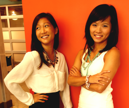 Keaton Row cofounders Cheryl Han and Elenor Mak. (Photo via Keaton Row)