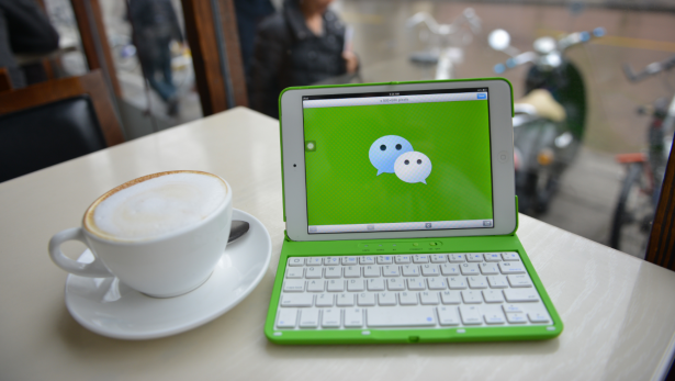 WeChat is one of the few Chinese apps finding wide use in the U.S. — but that's all about to change. (Photo via Getty)