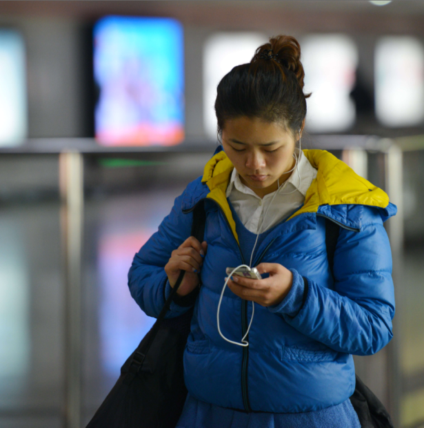 China's internet lifestyle is mostly lived on mobile, and that market is projected to be three times what the US could ever match, Mr. Richards told Betabeat. (Photo via Getty)