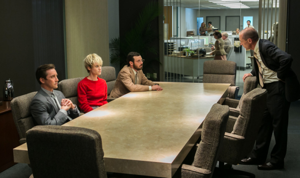 This scene features Don Draper, Joa... oh wait, wrong show. Hm. (Photo via AMC)