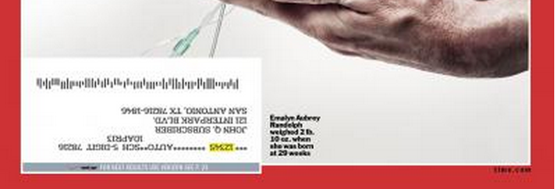 time cover ad