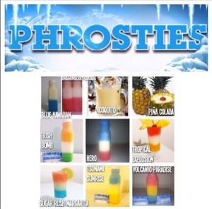 @Phrosties, a private Instagram account, must approve users before they can illegal order slushies. (Courtesy of @Phrosties-Instagram)