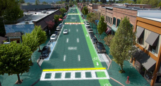 Well past their $1 million goal, Solar Roadways will move into mass production and real-world testing. (via Solar Roadways)