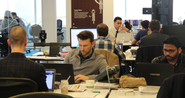 At Urban Future Lab, experienced entrepreneurs are working on the same problem without well-managed PR campaigns and fun videos to back them up. (Photo by Jack Smith IV)