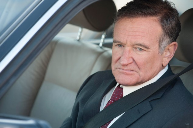 Robin Williams is aggrieved in 'The Angriest Man in Brooklyn.'