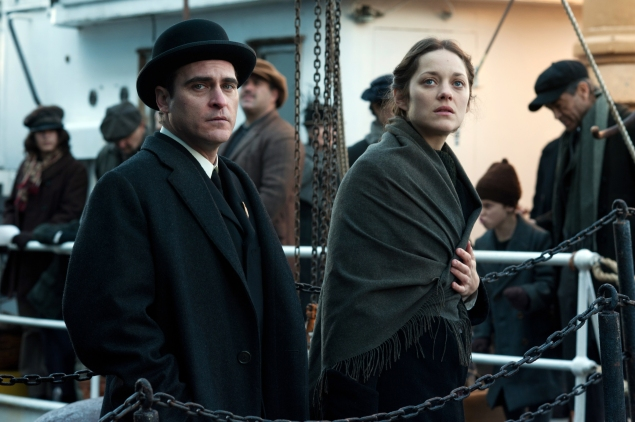 Joaquin Phoenix and Marion Cotillard in 'The Immigrant.'