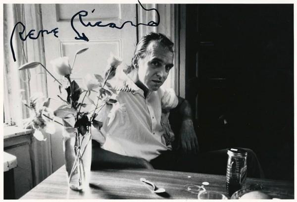 Rene Ricard (1986) by Allen Ginsberg.