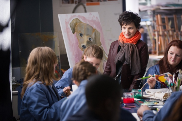 Juliette Binoche in Words and Pictures.