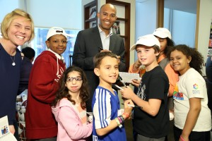 Mariano Rivera at BTIG's 12th Annual Commissions for Charity Day.