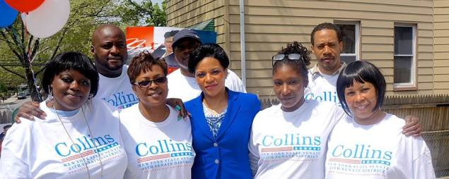Crystal Collins announces her candidacy (Facebook)