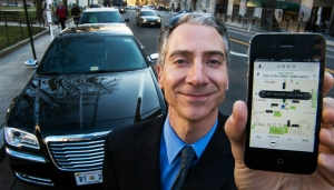 Uber drivers are judging you back. (PAUL J. RICHARDS/AFP/Getty Images)