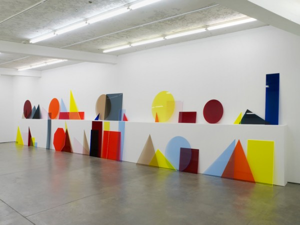 'A ∩ B ∩ C' (2013) by Amalia Pica. (Photo by Daniela Uribe, courtesy the artist, Marc Foxx Gallery and Museo Tamayo Arte Contemporáneo)