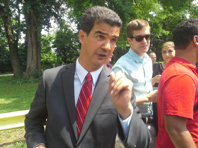 Councilman Ydanis Rodriguez today. (Photo: Ross Barkan)