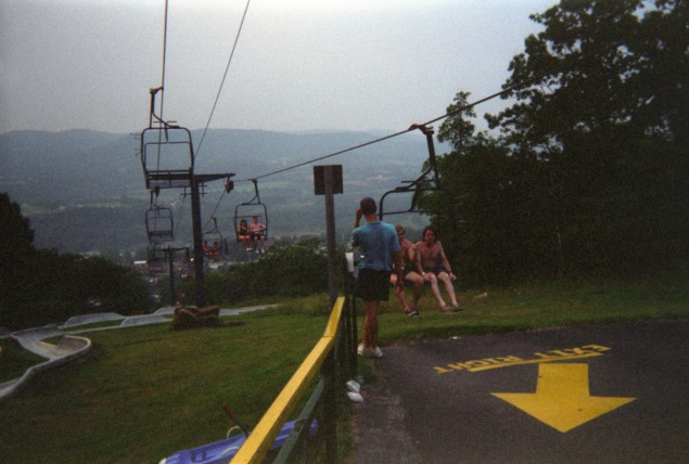 Accident Park, 1994 (Flickr)