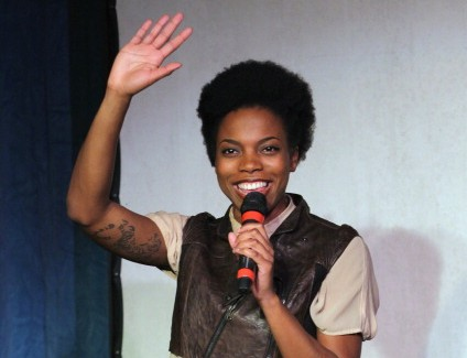 Sasheer Zamata appeared in Above Average videos well before she was cast on Saturday Night Live. (Getty Images)