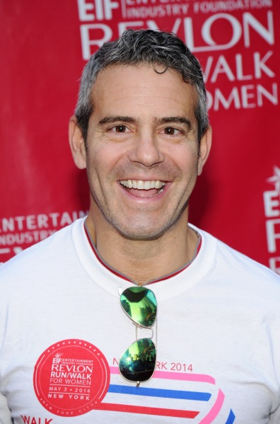 Andy Cohen, master of the shitty reality show. (Bryan Bedder/Getty Images EIF Revlon Run Walk)