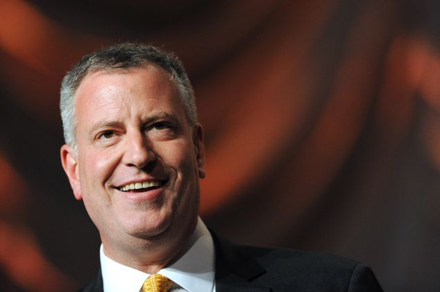 Mayor Bill de Blasio (Photo: Patrick Smith for Getty Images)