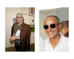 Josh Baer (l) and David Mugrabi. (Photos courtesy Patrick McMullan)