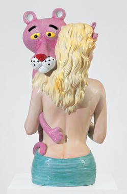 'Pink Panther' (1988) by Jeff Koons. (©Jeff Koons)