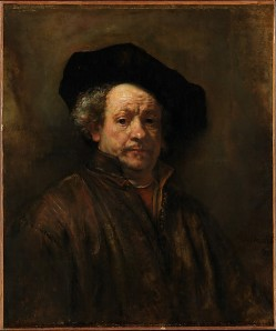 """""""Self-Portrait"""" by Rembrandt. (Courtesy of the Metropolitan Museum of Art)"""