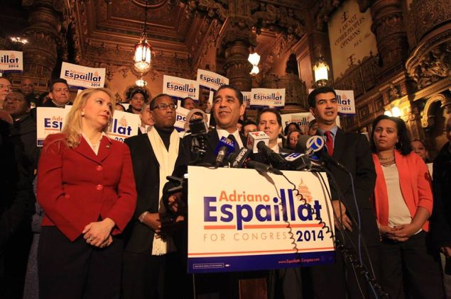 State Senator Adriano Espaillat.
