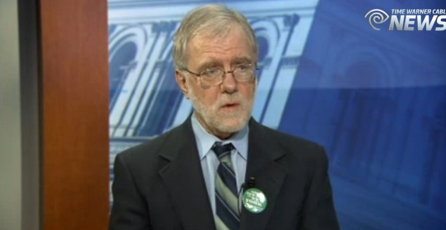 Howie Hawkins. (Screengrab: Capital Tonight)