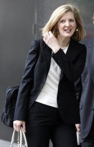 "Kathryn Ruemmler, pictured during the prosecution of Enron executives. Ms. Ruemmler was discovered to have failed to share evidence that she herself considered ""key"" to the defendants' case; soon after, she became Counsel to President Obama. (Getty Images)"