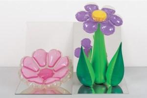 Jeff Koons, 'Inflatable Flowers (Short Pink, Tall Purple),' 1979. (© Jeff Koons)