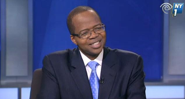 Brooklyn District Attorney Ken Thompson. (Screengrab: NY1)