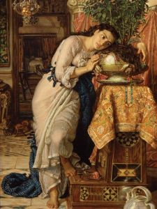 'Isabella and the Pot of Basil' by . (Courtesy Christie's)