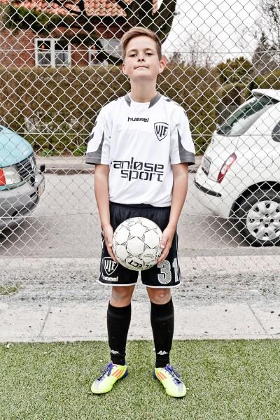 NAME: Kasper Jäger AGE: 12 CLUB: Vanløse IF POSITION: Midfield/Forward HOMETOWN: Vanløse, Denmark