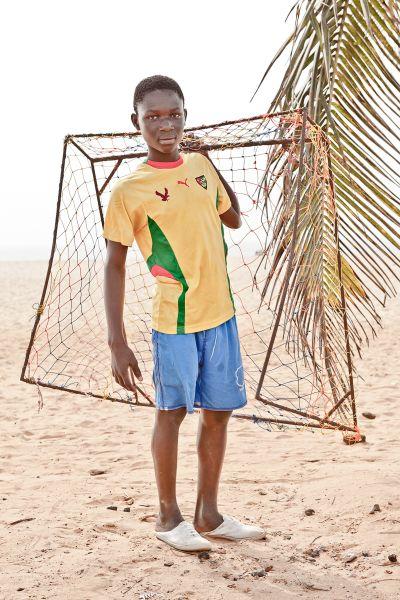 Eric Kolani, 15, Togo (Photographs by Nico Oved)