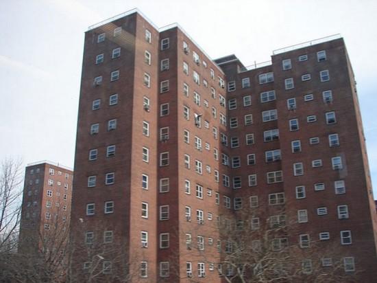 A NYCHA development (Photo: Flickr).