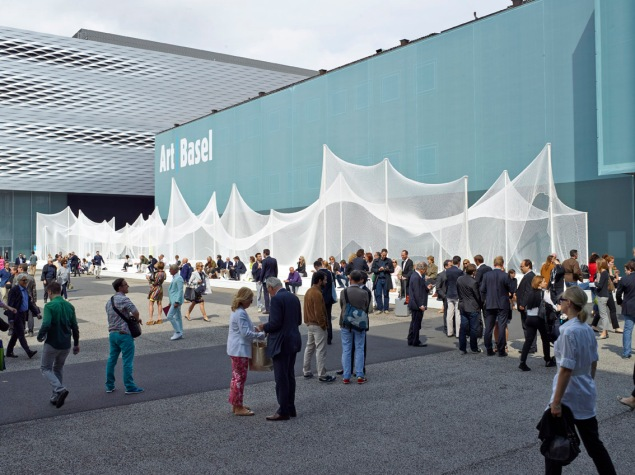 Art Basel (Photo by Messe Schweiz (Basel) AG/Courtesy Art Basel)